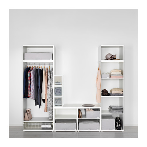 SOPPROT - pull-out storage unit, transparent white | IKEA Hong Kong and Macau - PE667799_S4