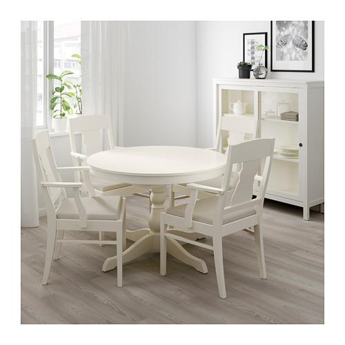 INGATORP/INGATORP - table and 4 chairs, white | IKEA Hong Kong and Macau - PE667818_S4