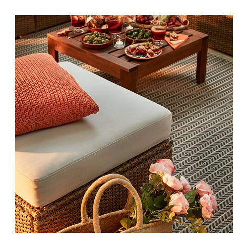 SOLLERÖN - modular corner sofa 3-seat, outdoor, brown/Frösön/Duvholmen beige | IKEA Hong Kong and Macau - PE717293_S4