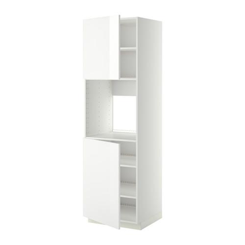 METOD - high cab f oven w 2 doors/shelves, white/Ringhult white   IKEA Hong Kong and Macau - PE408802_S4