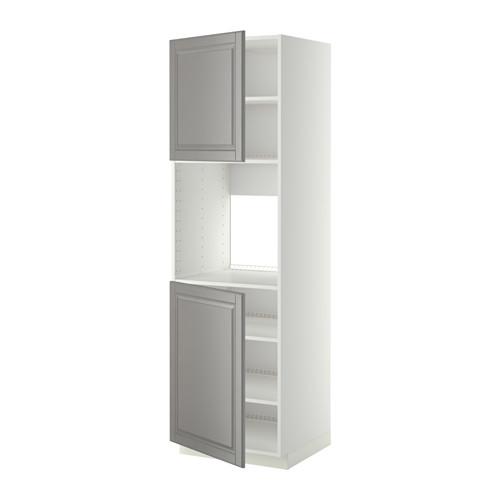 METOD - 焗爐用高櫃組合, 白色/Bodbyn 灰色 | IKEA 香港及澳門 - PE408786_S4