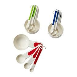 STÄM - 量匙,4件套裝, 紅色/綠色/藍色 | IKEA 香港及澳門 - PE327875_S3