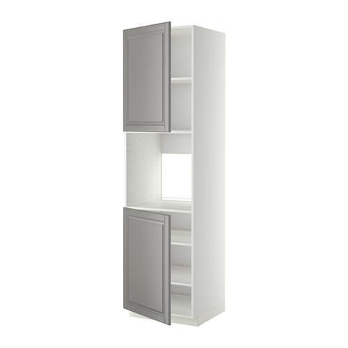 METOD - high cab f oven w 2 doors/shelves, white/Bodbyn grey | IKEA Hong Kong and Macau - PE408830_S4