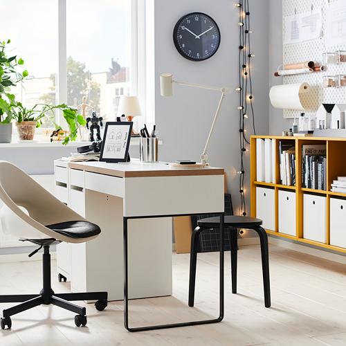 MICKE - desk, 105x50x75 cm, white/anthracite | IKEA Hong Kong and Macau - PH175190_S4