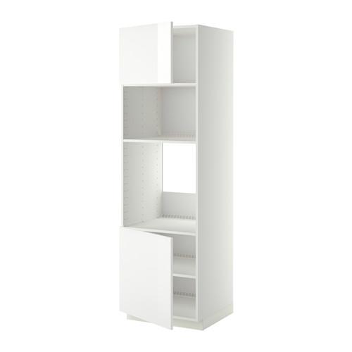 METOD - hi cb f oven/micro w 2 drs/shelves, white/Ringhult white | IKEA Hong Kong and Macau - PE409048_S4