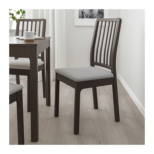 EKEDALEN - chair, dark brown/Orrsta light grey | IKEA Hong Kong and Macau - PE717452_S4