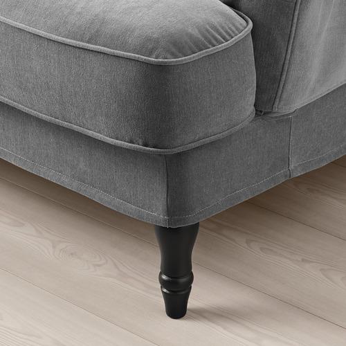 STOCKSUND - 2-seat sofa, Ljungen medium grey/black/wood | IKEA Hong Kong and Macau - PE756490_S4