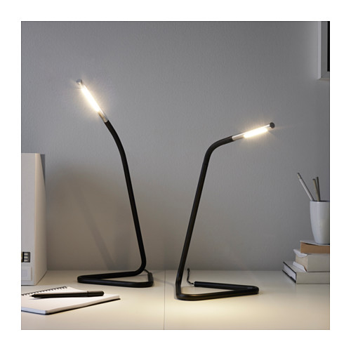 HÅRTE - LED work lamp, black/silver-colour | IKEA Hong Kong and Macau - PE614878_S4