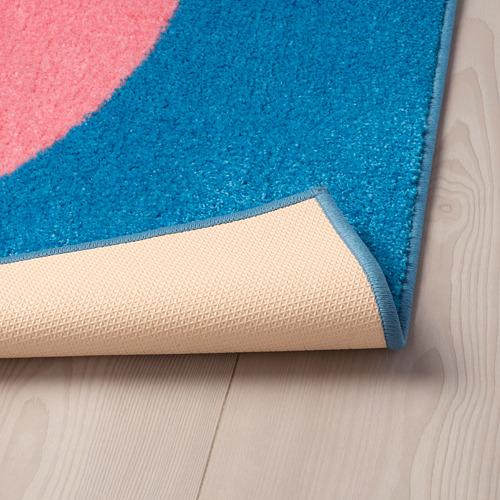 GRACIÖS - 地氈, 粉紅色/藍色   IKEA 香港及澳門 - PE756578_S4