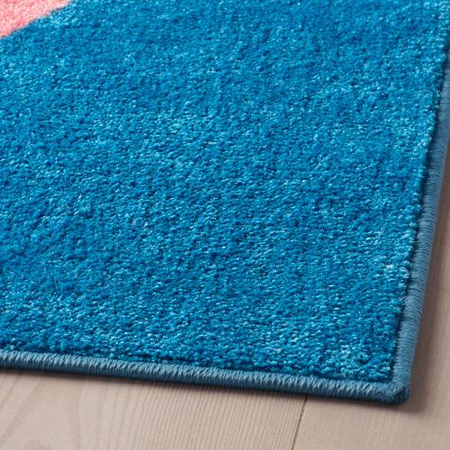 GRACIÖS - 地氈, 粉紅色/藍色   IKEA 香港及澳門 - PE756577_S4