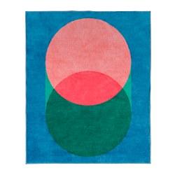 GRACIÖS - 地氈, 粉紅色/藍色 | IKEA 香港及澳門 - PE756576_S3
