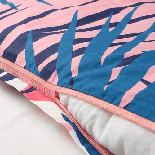 GRACIÖS - 被套枕袋套裝, 方塊圖案/粉紅色   IKEA 香港及澳門 - PE756591_S4