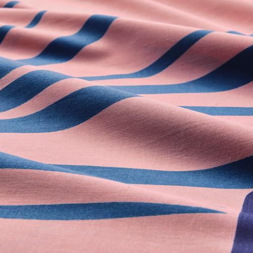 GRACIÖS - 被套枕袋套裝, 方塊圖案/粉紅色   IKEA 香港及澳門 - PE756595_S4