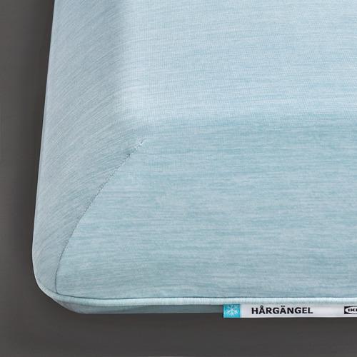 HÅRGÄNGEL - ergonomic pillow, side/back sleeper, light blue | IKEA Hong Kong and Macau - PE812249_S4