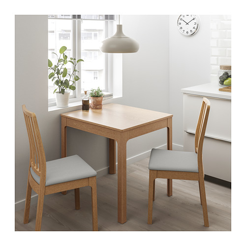 EKEDALEN - chair, oak/Orrsta light grey | IKEA Hong Kong and Macau - PE717608_S4