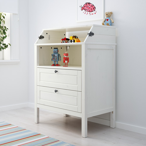 SUNDVIK - 更換尿布檯 / 抽屜櫃, 白色 | IKEA 香港及澳門 - PE612069_S4