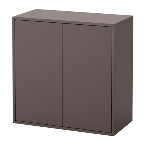 EKET - cabinet w 2 doors and 1 shelf, dark grey | IKEA Hong Kong and Macau - PE615063_S4
