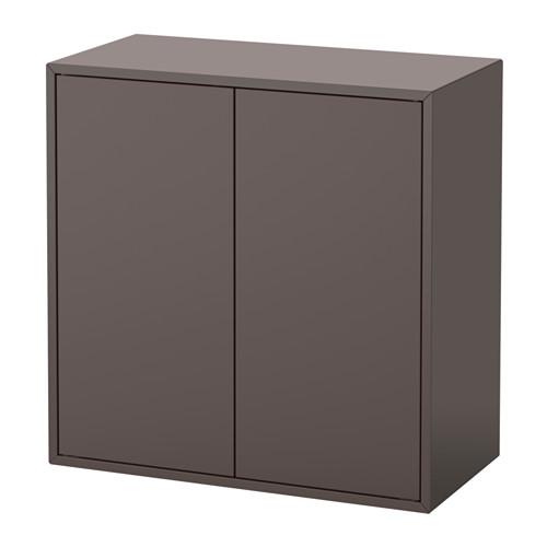 EKET cabinet w 2 doors and 1 shelf