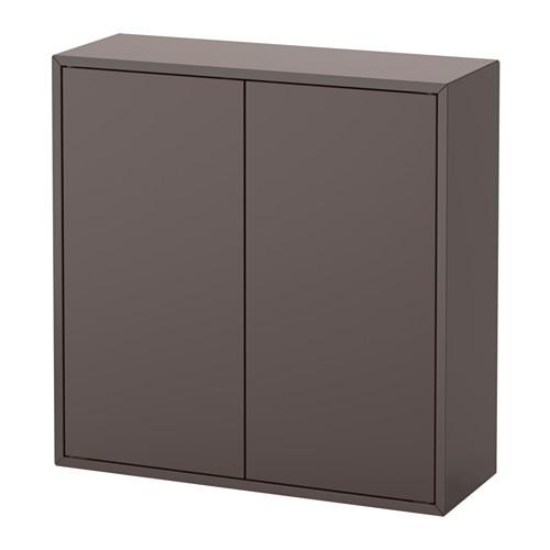 EKET - wall-mounted shelving unit, dark grey | IKEA Hong Kong and Macau - PE615052_S4