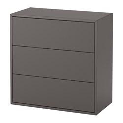 EKET - 3層抽屜櫃, 深灰色 | IKEA 香港及澳門 - PE615058_S3