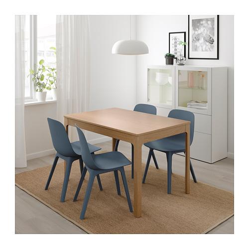 ODGER/EKEDALEN - 一檯四椅, 橡木/藍色 | IKEA 香港及澳門 - PE717619_S4
