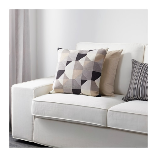 SVARTHÖ - cushion cover, beige | IKEA Hong Kong and Macau - PE632018_S4