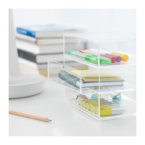 SVASP - storage box with 3 drawers, 17x13x14.7 cm | IKEA Hong Kong and Macau - PE717758_S4