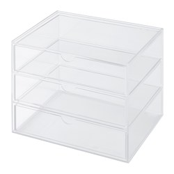 SVASP - storage box with 3 drawers | IKEA Hong Kong and Macau - PE717759_S3