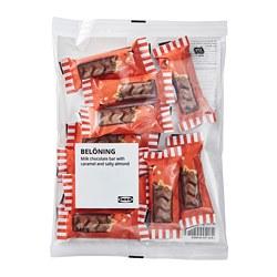 BELÖNING - 牛奶朱古力, w caramel and salty almond filling UTZ certified | IKEA 香港及澳門 - PE812427_S3