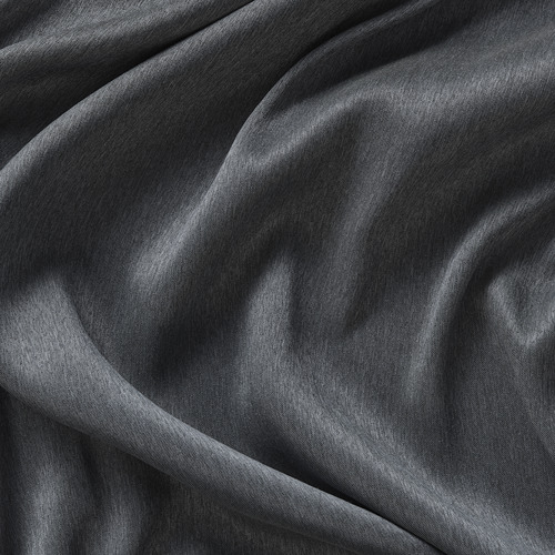 BLÅHUVA - 遮光窗簾,一對,深灰色 | IKEA 香港及澳門 - PE756678_S4