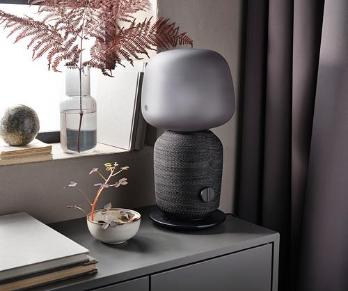SYMFONISK - 座檯燈連Wi-Fi喇叭, 黑色   IKEA 香港及澳門 - PH171128_S4