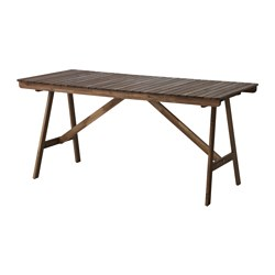 FALHOLMEN - table, outdoor, light brown stained | IKEA Hong Kong and Macau - PE615129_S3
