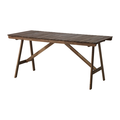 FALHOLMEN - table, outdoor, light brown stained   IKEA Hong Kong and Macau - PE615129_S4