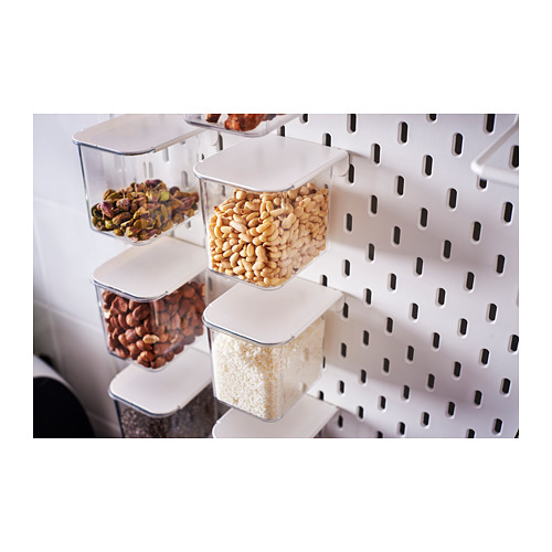 SKÅDIS - 連蓋貯物盒, 白色 | IKEA 香港及澳門 - PH142842_S4