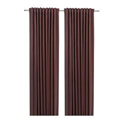 BLÅHUVA - 遮光窗簾,一對, 啡紅色 | IKEA 香港及澳門 - PE756684_S3