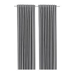 BLÅHUVA - 半遮光窗簾,一對, 淺灰色 | IKEA 香港及澳門 - PE756694_S3