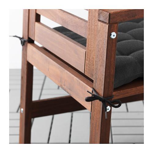 HÅLLÖ - 椅墊,戶外用, 50x50 cm, 黑色   IKEA 香港及澳門 - PE615215_S4