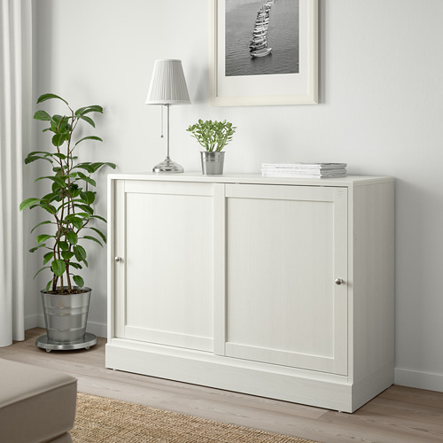 HAVSTA - cabinet with plinth, white | IKEA Hong Kong and Macau - PE718238_S4