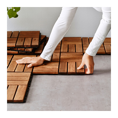 RUNNEN - floor decking, outdoor, brown stained | IKEA Hong Kong and Macau - PE615549_S4