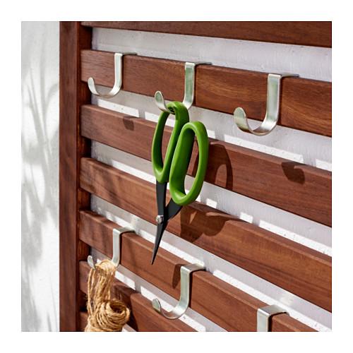 ÄPPLARÖ 戶外長凳連牆架層板組合
