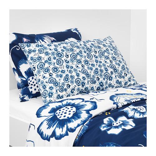 SÅNGLÄRKA - 咕𠱸, 花/藍色 白色   IKEA 香港及澳門 - PE718265_S4