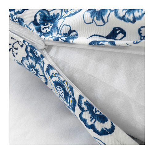 SÅNGLÄRKA - 咕𠱸, 花/藍色 白色   IKEA 香港及澳門 - PE718269_S4