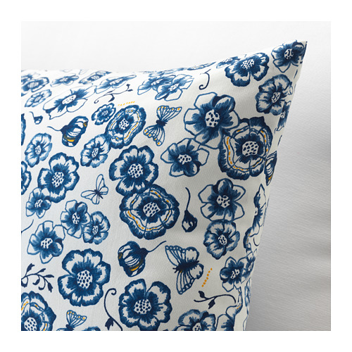 SÅNGLÄRKA - 咕𠱸, 花/藍色 白色   IKEA 香港及澳門 - PE718267_S4