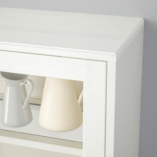 HAVSTA - 玻璃門貯物櫃連腳座板, 白色/透明玻璃 | IKEA 香港及澳門 - PE718276_S4