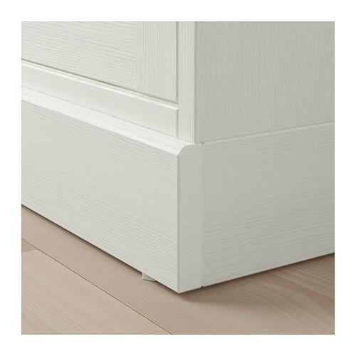 HAVSTA - 玻璃門貯物櫃連腳座板, 白色/透明玻璃 | IKEA 香港及澳門 - PE718277_S4