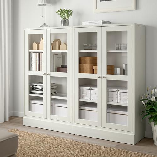 HAVSTA - storage combination w glass doors, white | IKEA Hong Kong and Macau - PE718300_S4