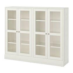 HAVSTA - 玻璃門貯物組合, 白色 | IKEA 香港及澳門 - PE718299_S3