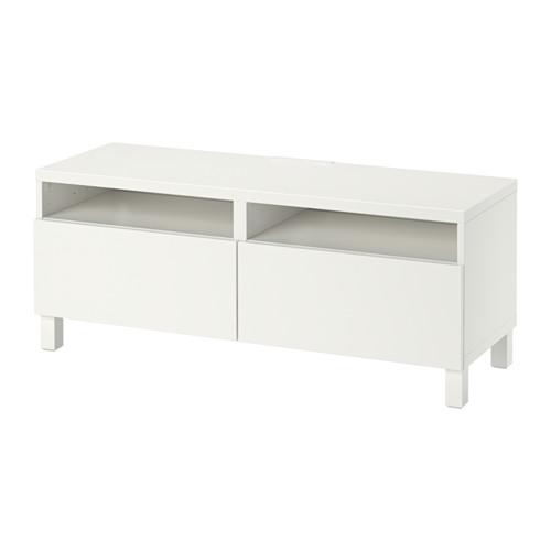 BESTÅ - 電視几連抽屜, white/Lappviken/Stubbarp white   IKEA 香港及澳門 - PE553091_S4