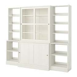HAVSTA - storage comb w sliding glass doors, white | IKEA Hong Kong and Macau - PE718323_S3