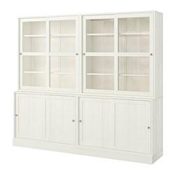 HAVSTA - storage comb w sliding glass doors, white | IKEA Hong Kong and Macau - PE718325_S3